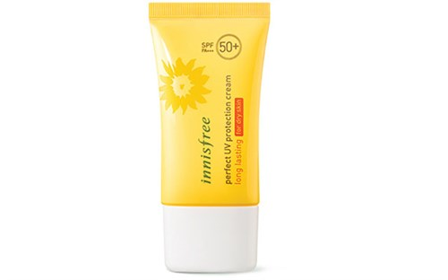 Kem chống nắng Hàn Quốc Innisfree Perfect UV Protection Cream Long Lasting for Dry Skin
