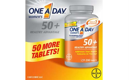 ONE A DAY Women's 50+ Advantage Vitamins, 220 viên, Mỹ