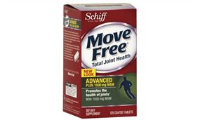 Schiff® Move Free ®Advanced plus 1500 mg MSM 120 viên