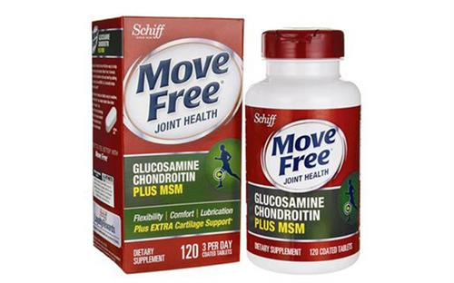 Schiff® Move Free ®Advanced plus 1500 mg Glucosamine Chondroitin MSM 120 viên
