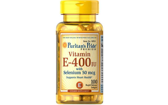Vitamin E 400 iu with Selenium 50 mcg