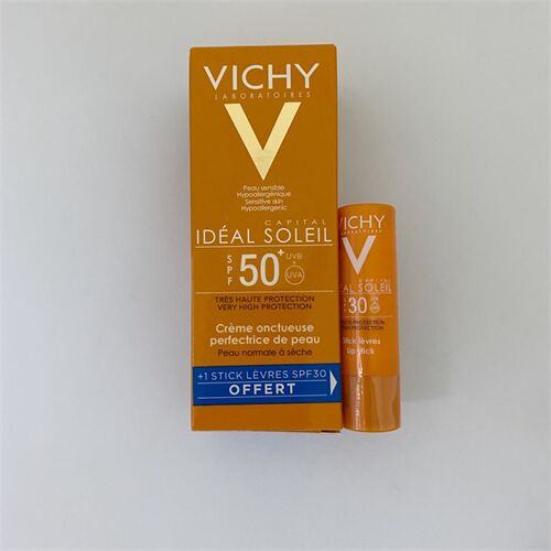 Kem chống nắng Vichy Ideal Soleil Mattifying Face Fluid Dry Touch SPF50 50ml của Pháp