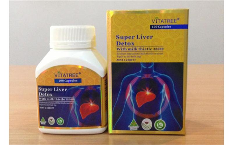 Thực phẩm chức năng bổ gan Úc - Super Liver Detox