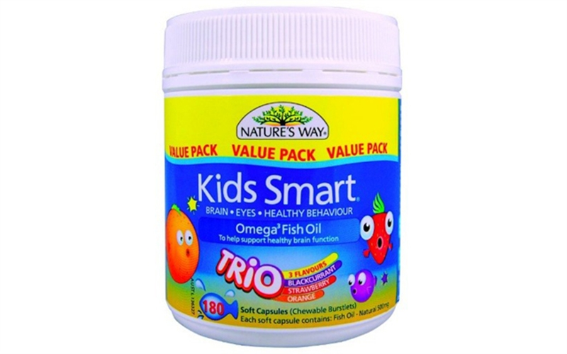 Kids Smart Omega 3 Fish Oil