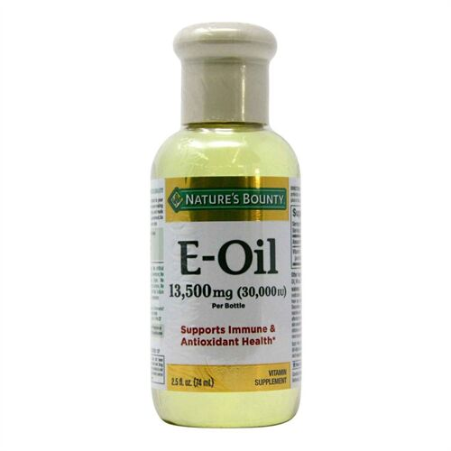 Nature's Bounty Vitamin E Oil 13,500 mg - 2.5 oz (74 ml) của Mỹ