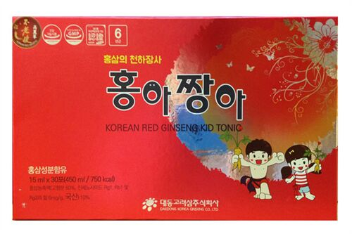 Hồng sâm baby Daedong - Korean Red Ginseng Kid Tonic