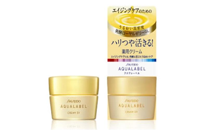 Kem dưỡng da ban đêm Shiseido Aqualabel Cream Ex
