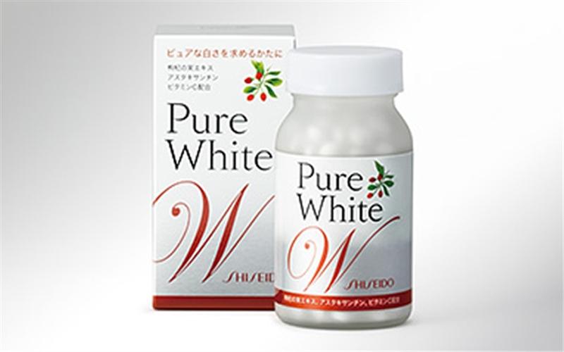 pure white dạng viên