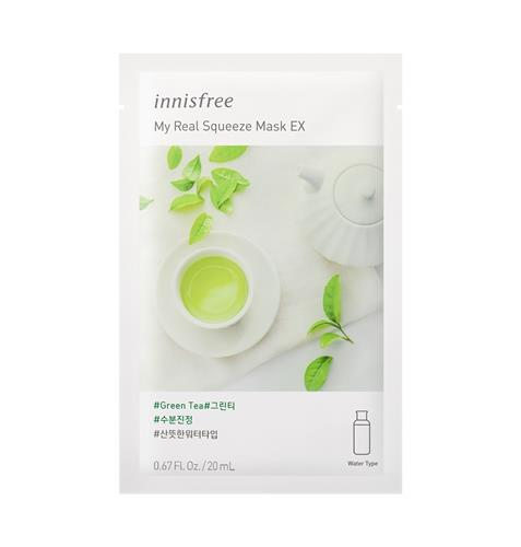 Mặt nạ giấy Innisfree  My Real Squeeze Mask EX 20ml Hàn Quốc