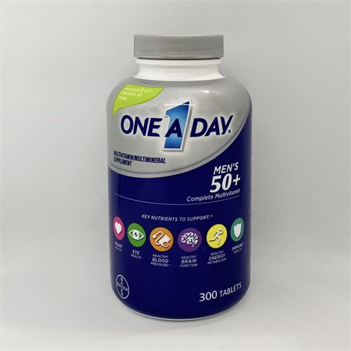 ONE A DAY Men's 50+ Advantage Vitamins,300 viên của Mỹ