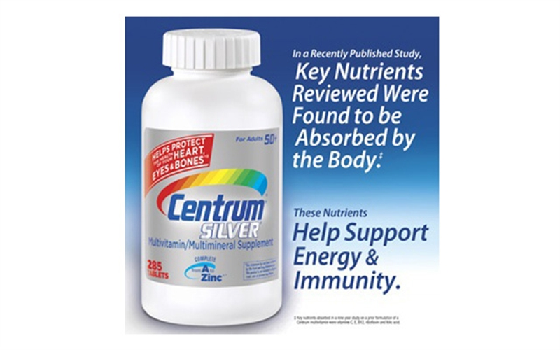 Centrum Silver Multivitamin 50+ 285 viên