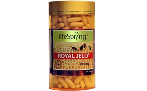 Sữa Ong Chúa LifeSpring 360 Viên 1000 mg Úc - LifeSpring Royal Jelly 1000 mg