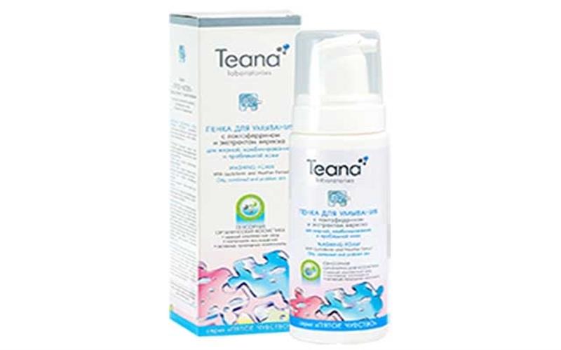 Bọt rửa mặt Teana P2 của Nga