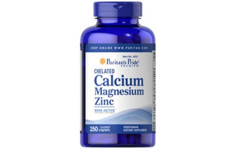 Chelated Calcium Magnesium Zinc Puritan