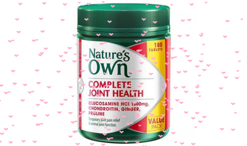 Nature's-Own-Complete-Joint-Health-180-vien